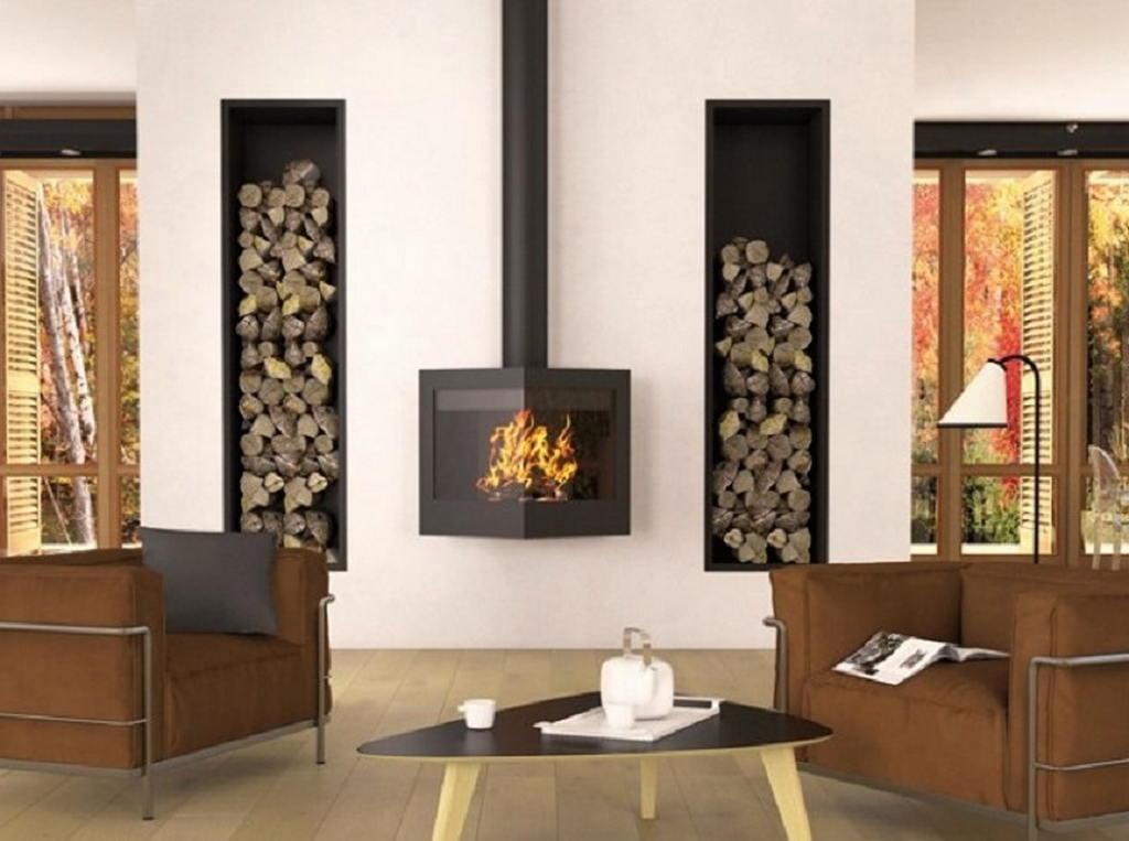 Тепло и уют — камин в интерьере квартиры и дома 111