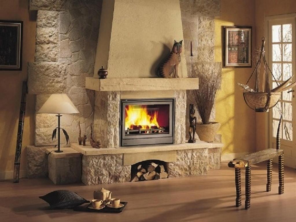 Тепло и уют — камин в интерьере квартиры и дома 112
