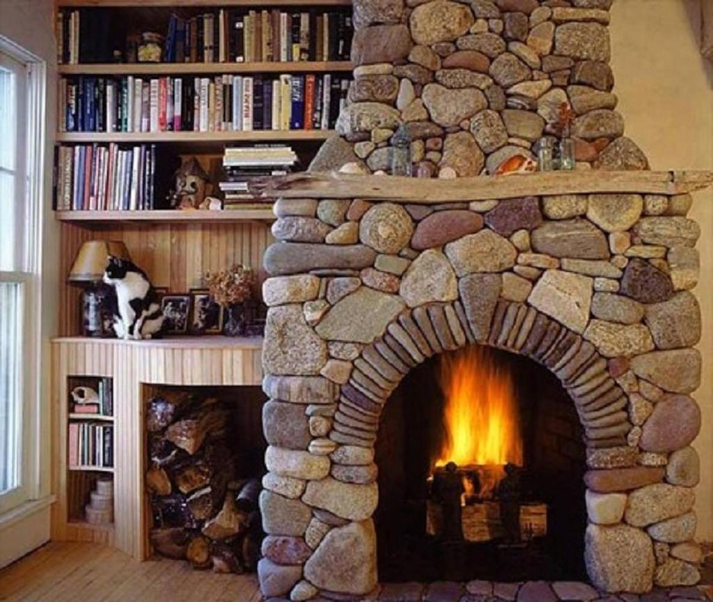 Тепло и уют — камин в интерьере квартиры и дома 113