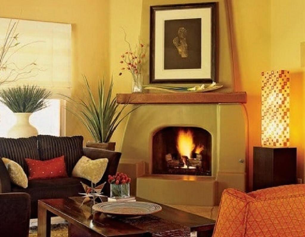 Тепло и уют — камин в интерьере квартиры и дома 114