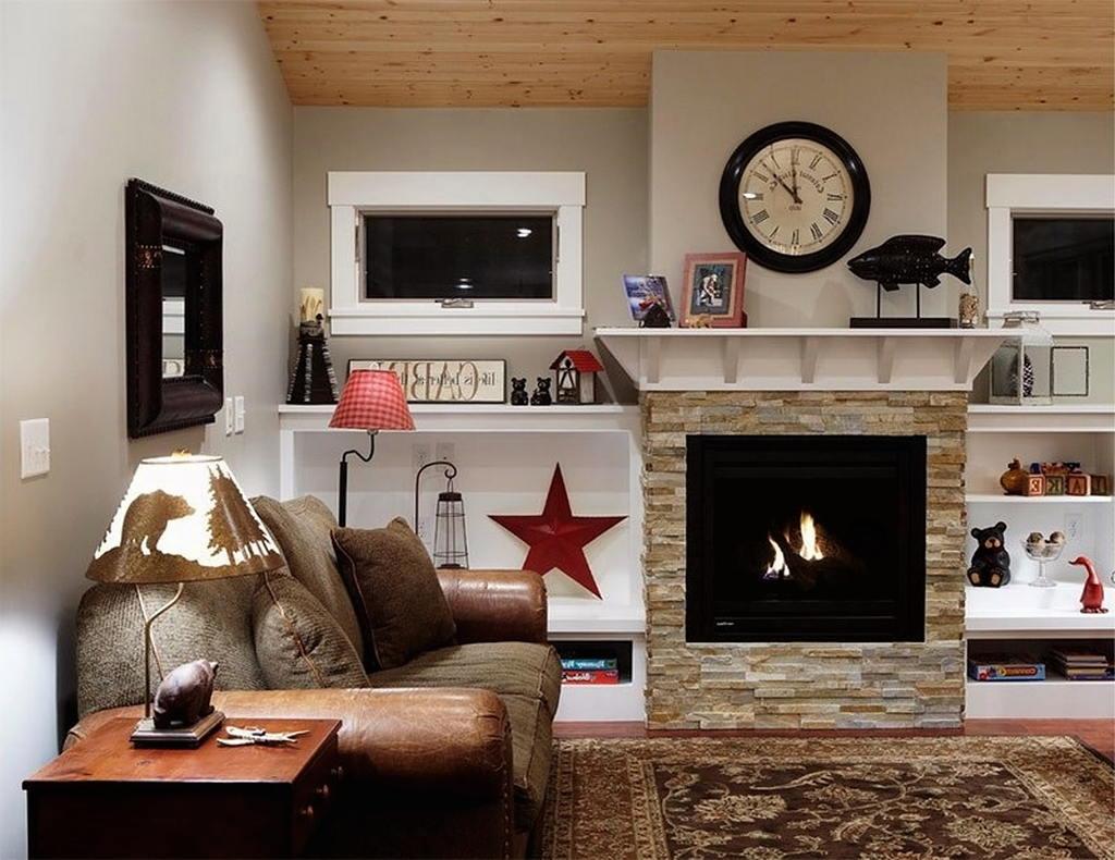 Тепло и уют — камин в интерьере квартиры и дома 115