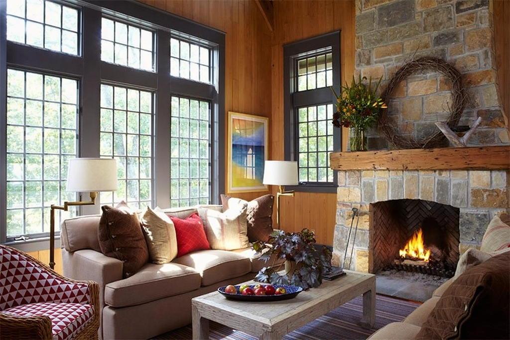 Тепло и уют — камин в интерьере квартиры и дома 117