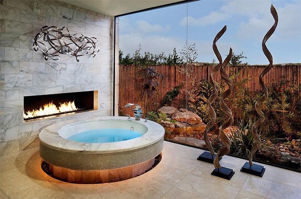 Тепло и уют — камин в интерьере квартиры и дома 118