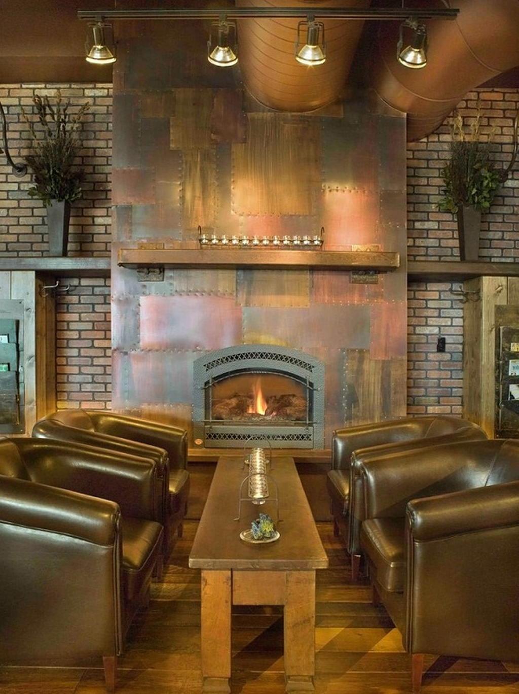 Тепло и уют — камин в интерьере квартиры и дома 122