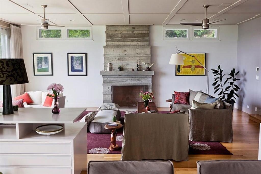Тепло и уют — камин в интерьере квартиры и дома 123