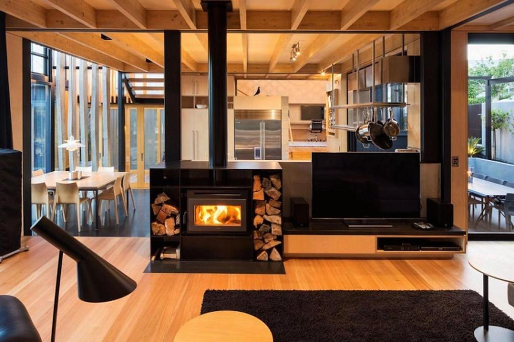 Тепло и уют — камин в интерьере квартиры и дома 125
