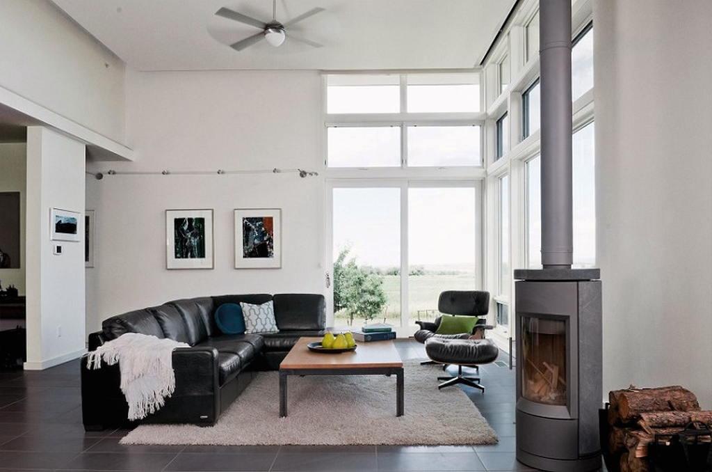 Тепло и уют — камин в интерьере квартиры и дома 126