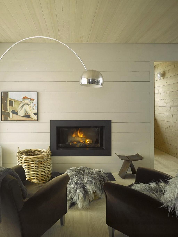 Тепло и уют — камин в интерьере квартиры и дома 127