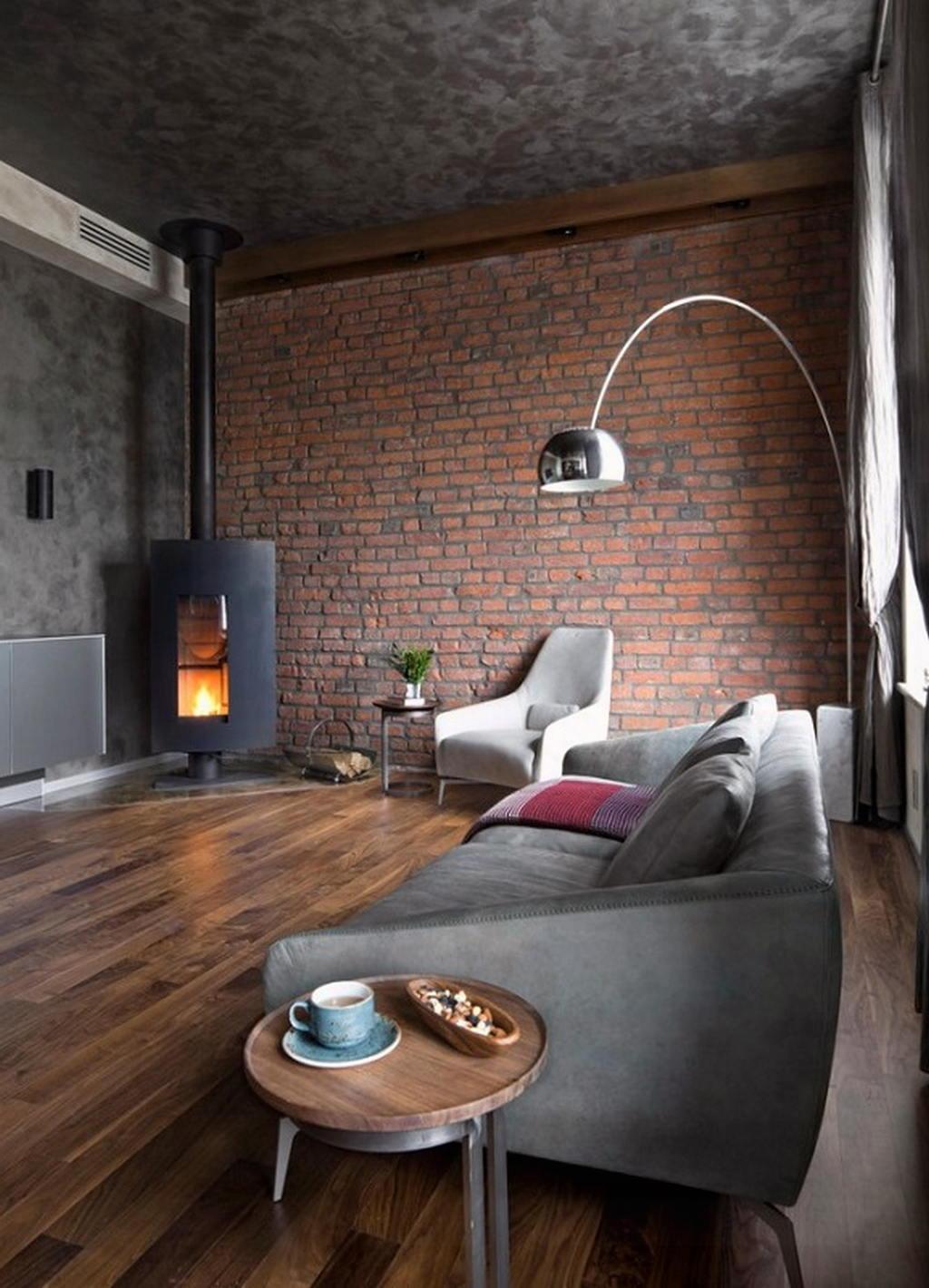 Тепло и уют — камин в интерьере квартиры и дома 13