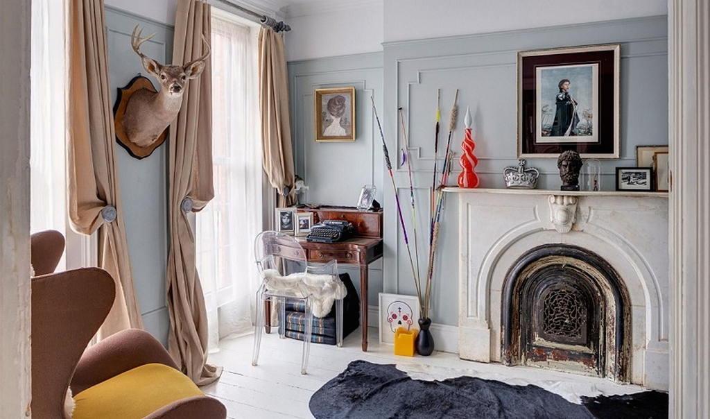 Тепло и уют — камин в интерьере квартиры и дома 134