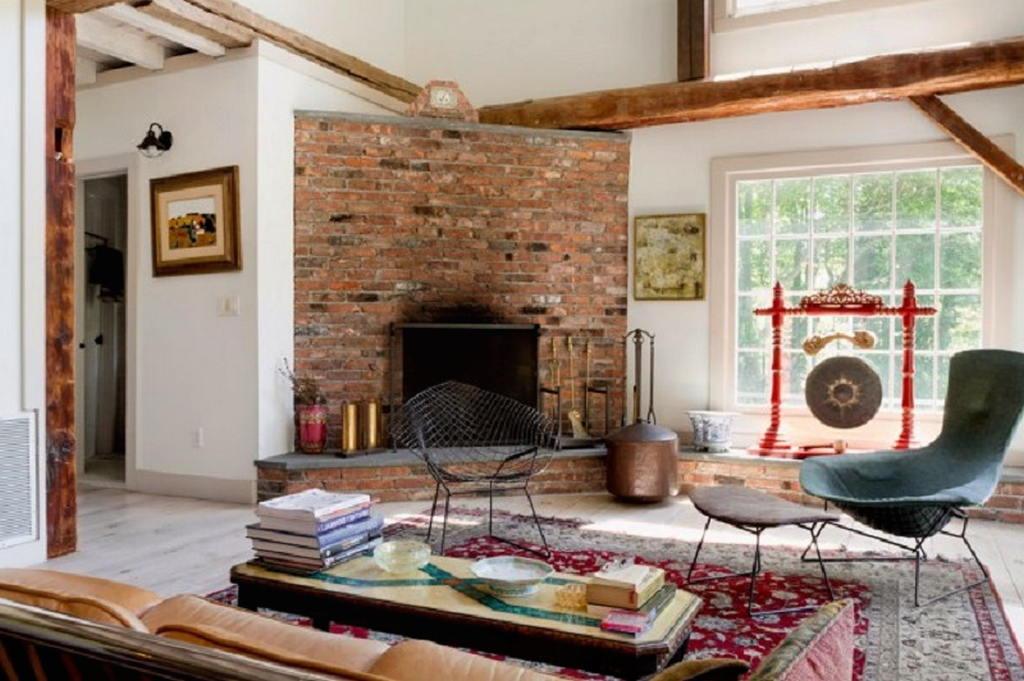 Тепло и уют — камин в интерьере квартиры и дома 14