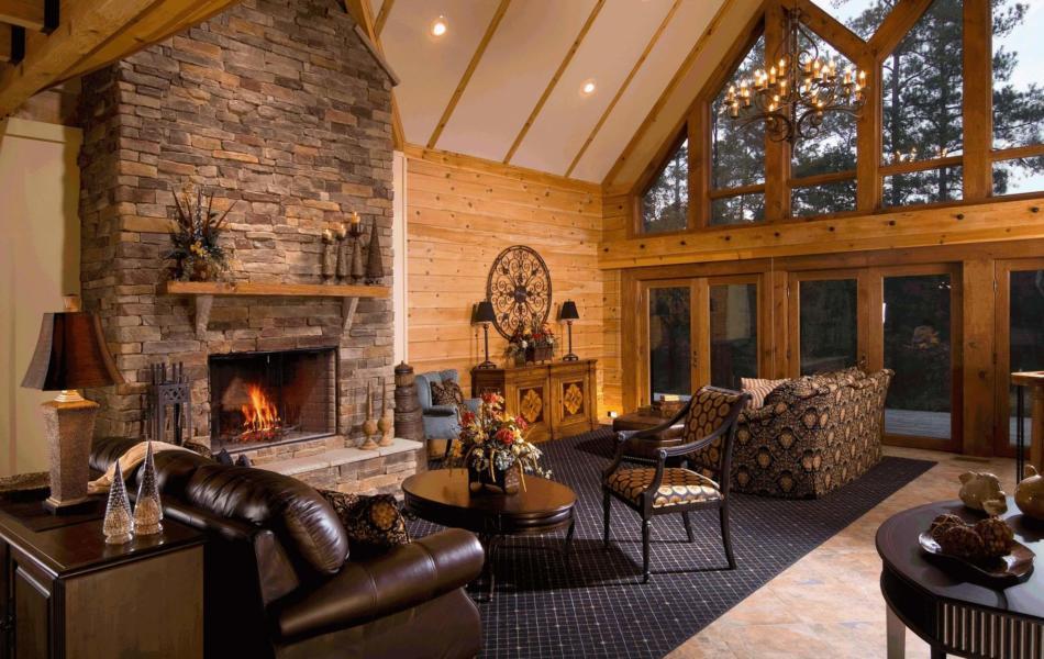 Тепло и уют — камин в интерьере квартиры и дома 150