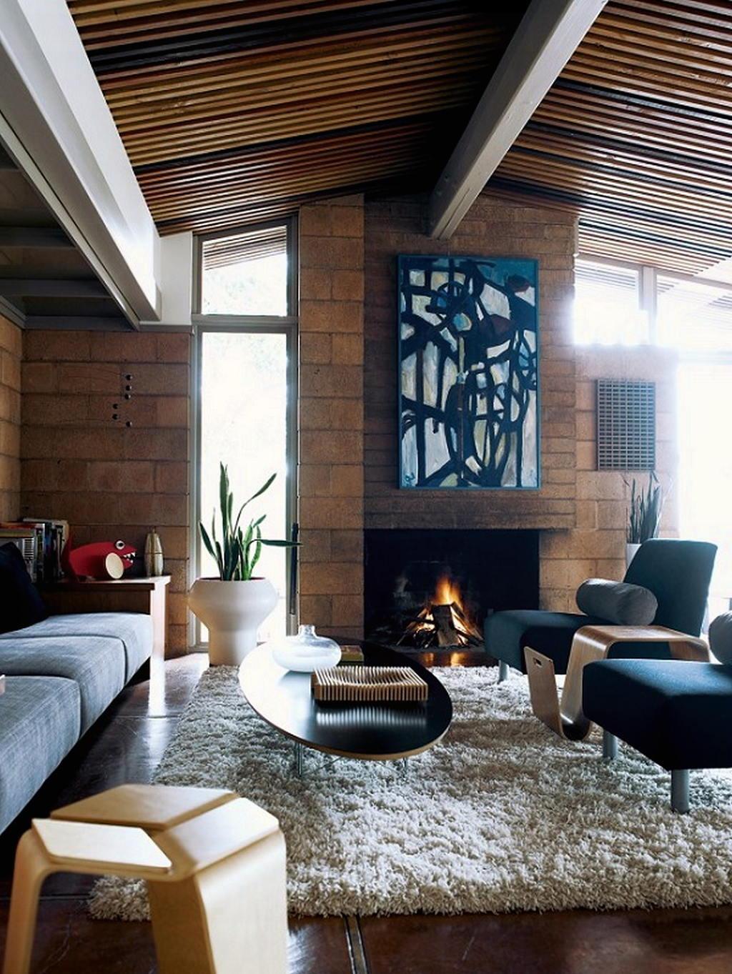 Тепло и уют — камин в интерьере квартиры и дома 16