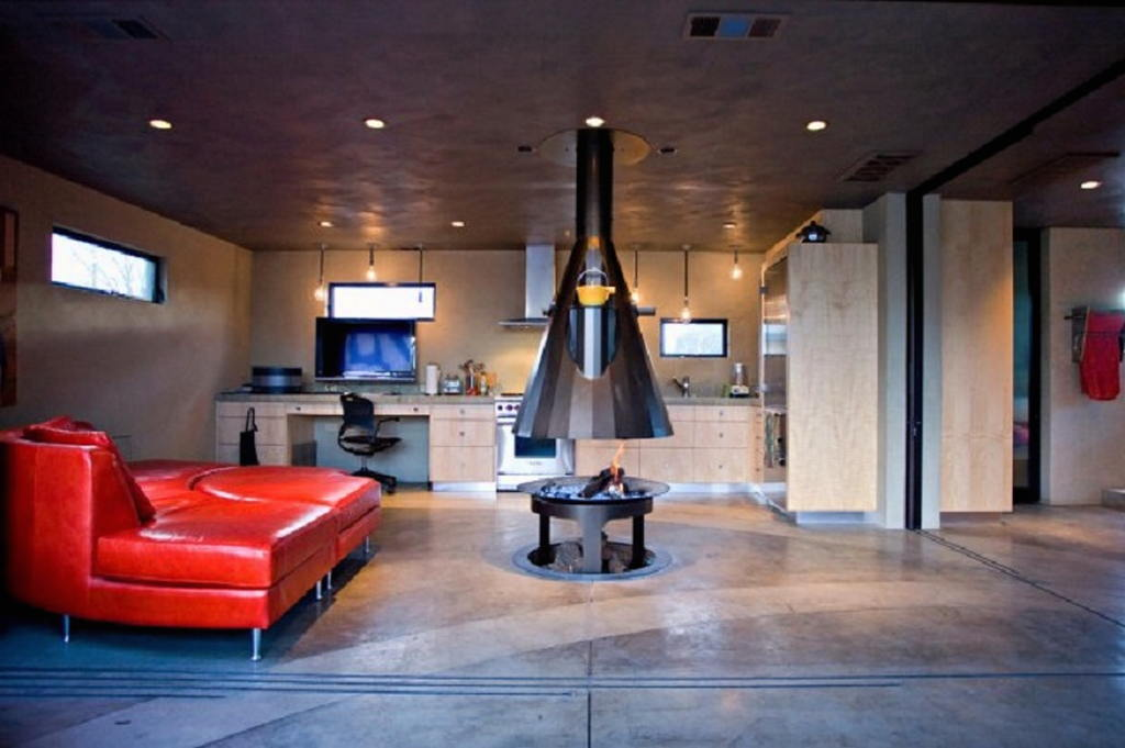 Тепло и уют — камин в интерьере квартиры и дома 19