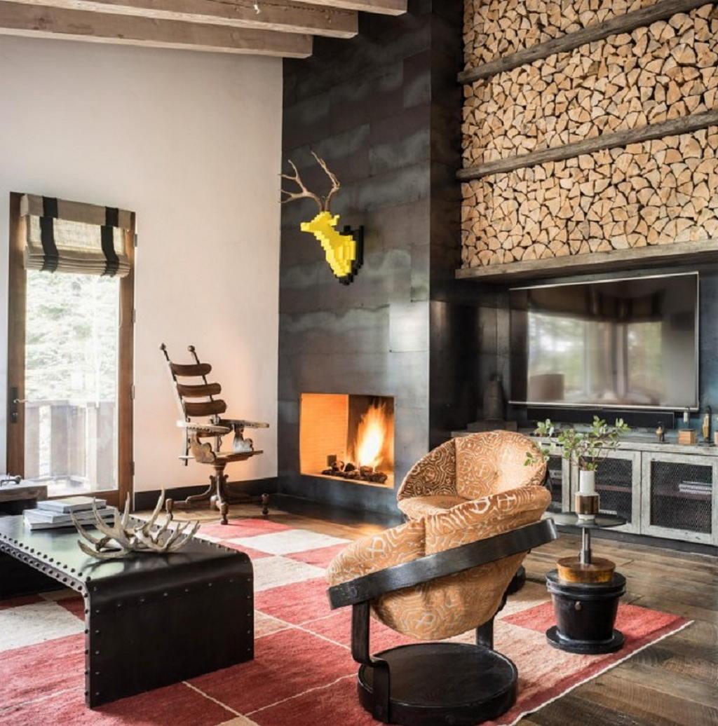 Тепло и уют — камин в интерьере квартиры и дома 2