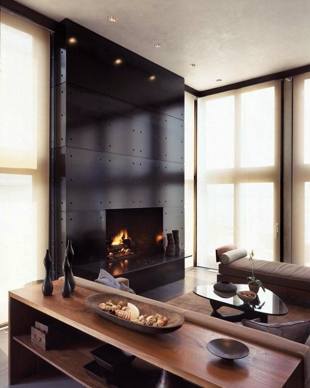 Тепло и уют — камин в интерьере квартиры и дома 23