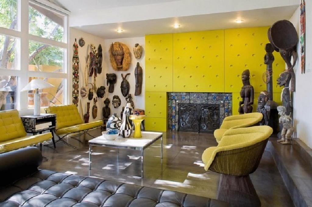 Тепло и уют — камин в интерьере квартиры и дома 24