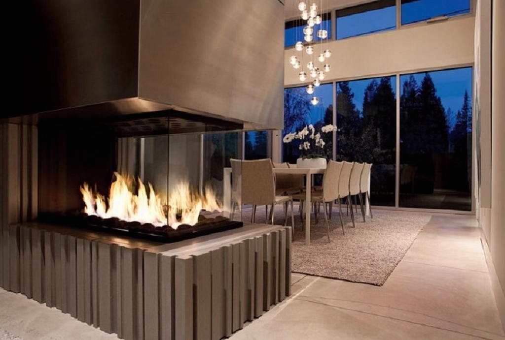Тепло и уют — камин в интерьере квартиры и дома 26