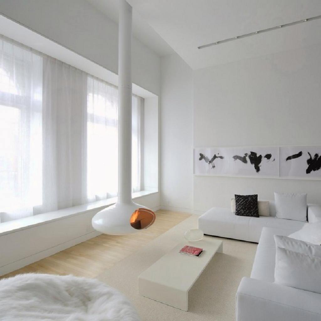 Тепло и уют — камин в интерьере квартиры и дома 27