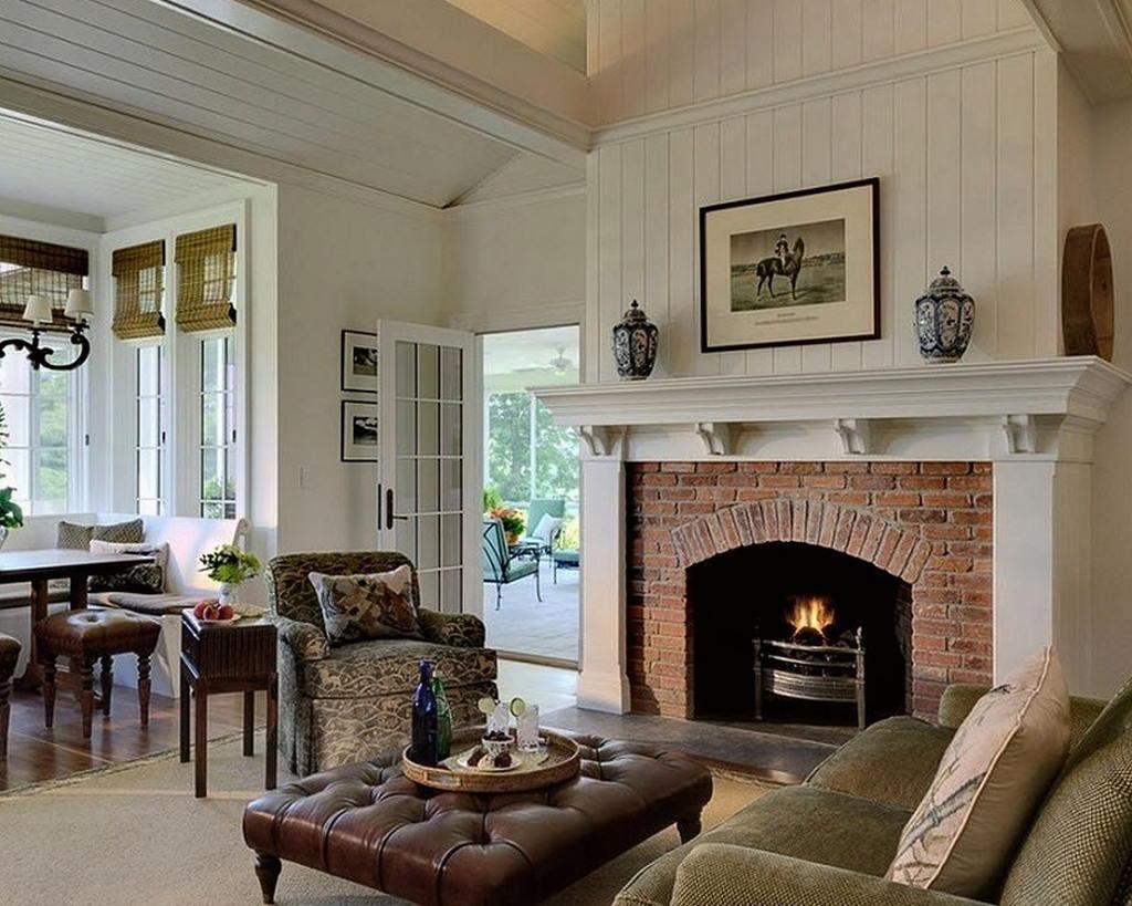 Тепло и уют — камин в интерьере квартиры и дома 30