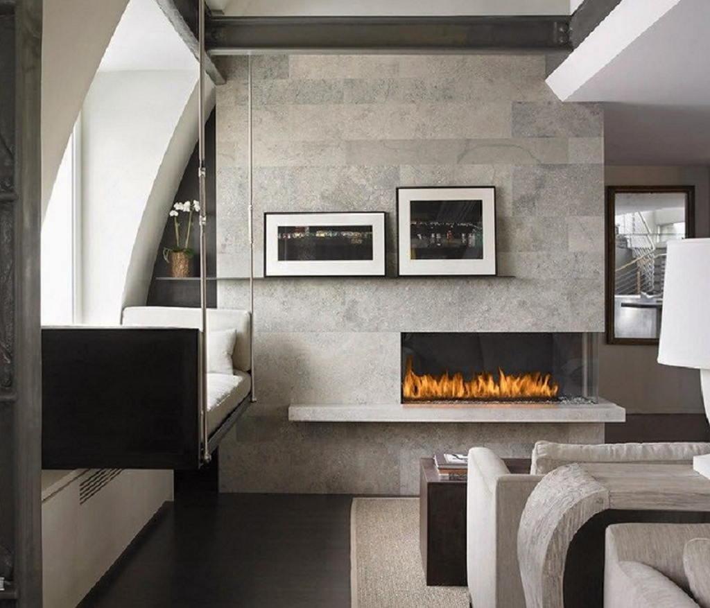 Тепло и уют — камин в интерьере квартиры и дома 32