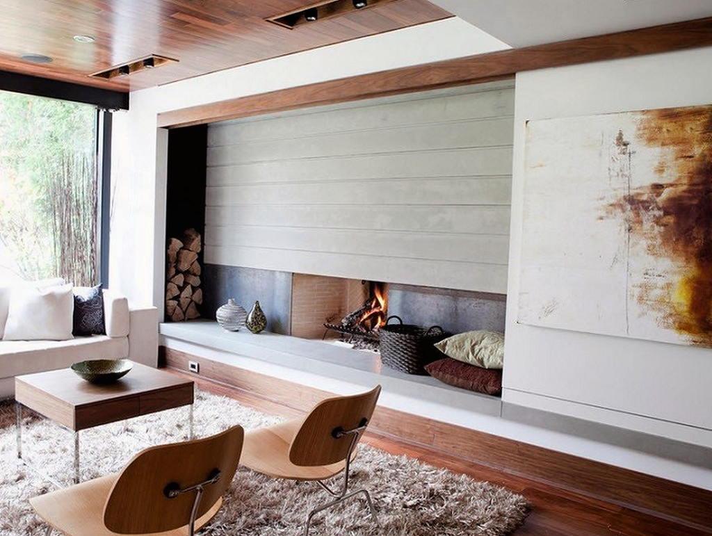 Тепло и уют — камин в интерьере квартиры и дома 33