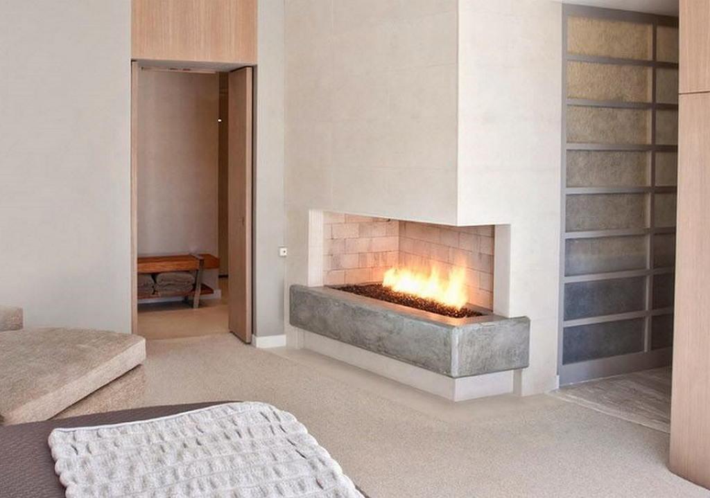 Тепло и уют — камин в интерьере квартиры и дома 34