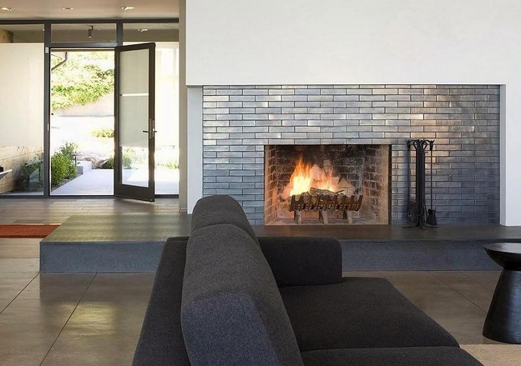 Тепло и уют — камин в интерьере квартиры и дома 35