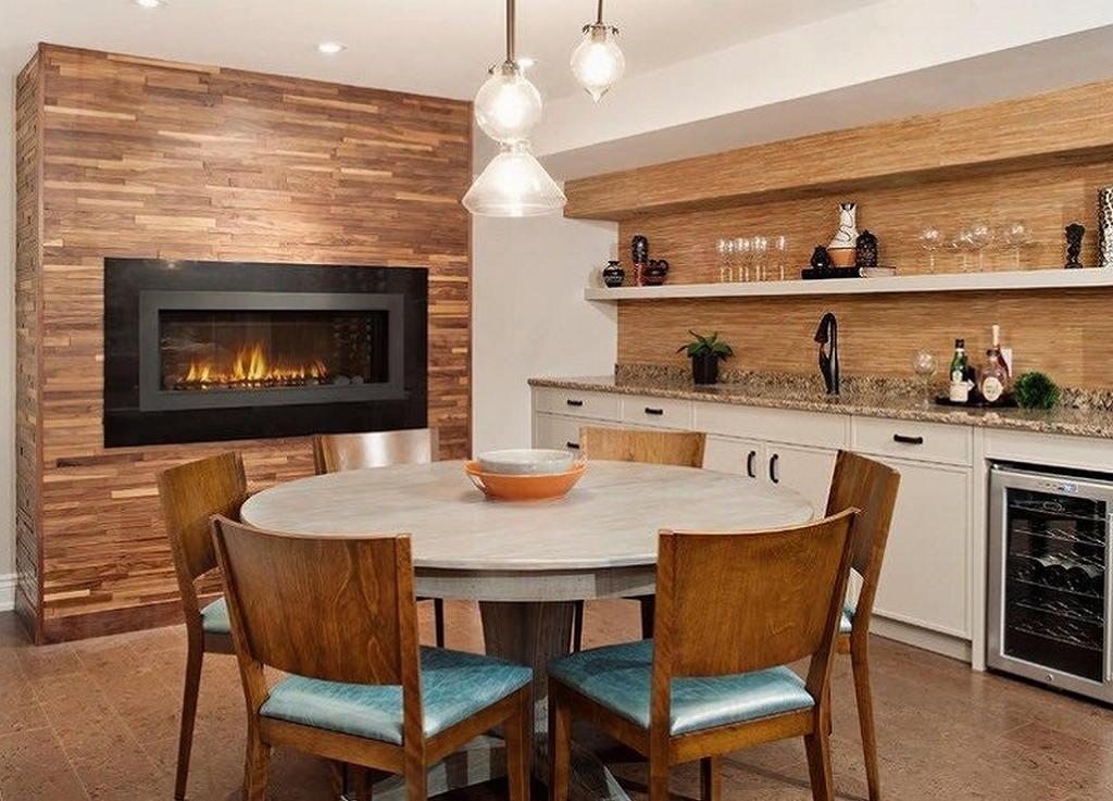 Тепло и уют — камин в интерьере квартиры и дома 39