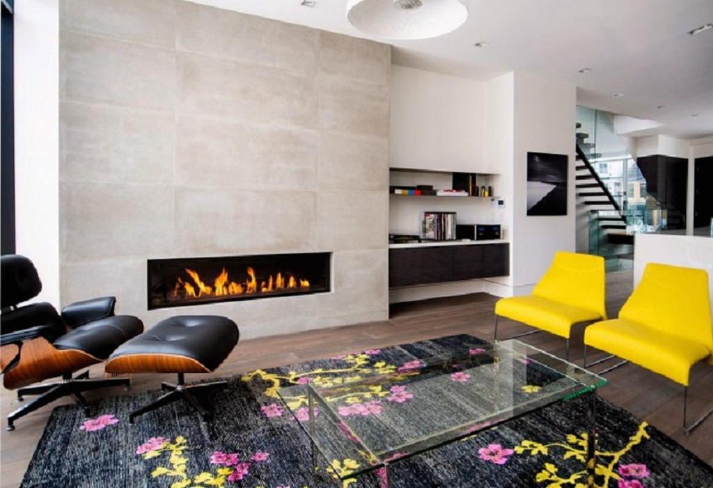 Тепло и уют — камин в интерьере квартиры и дома 4