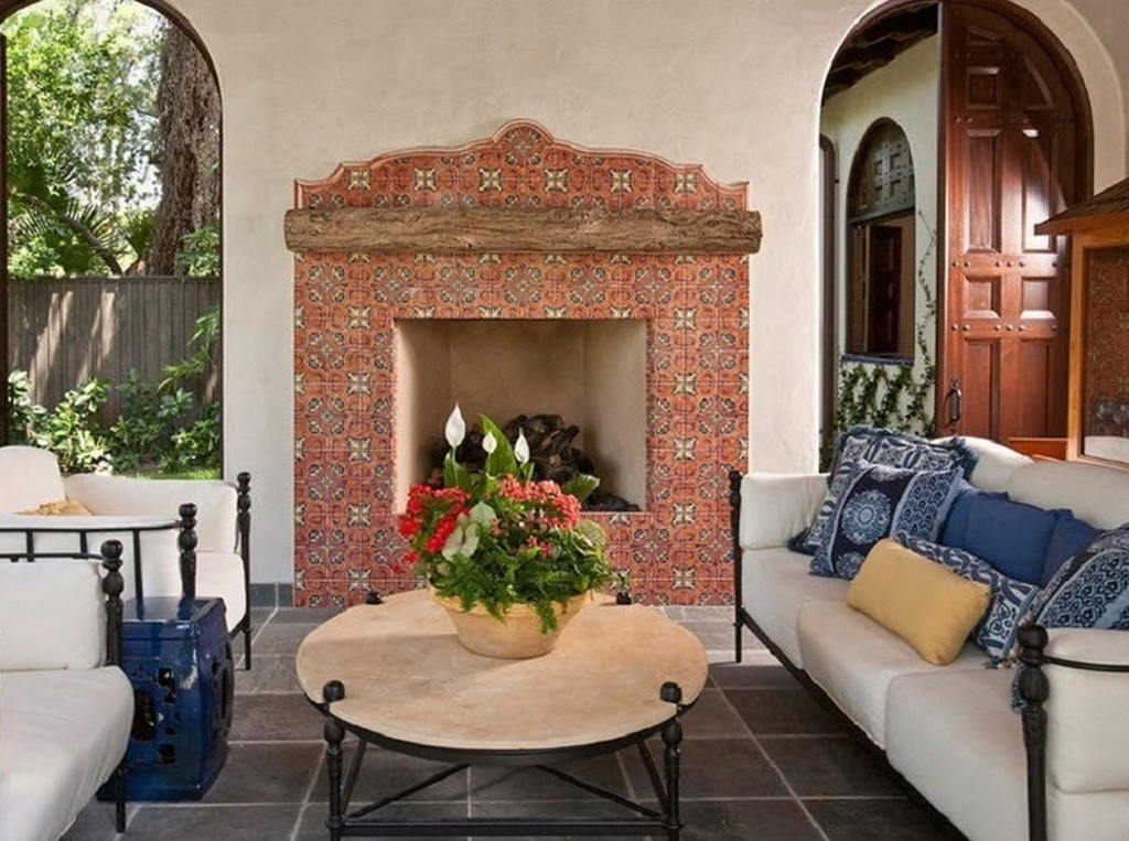 Тепло и уют — камин в интерьере квартиры и дома 41