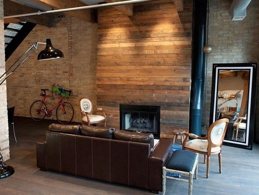 Тепло и уют — камин в интерьере квартиры и дома 42