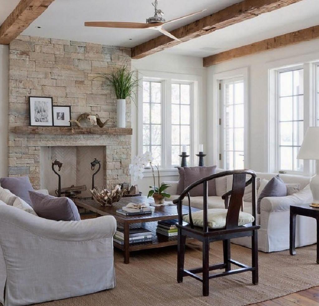 Тепло и уют — камин в интерьере квартиры и дома 44