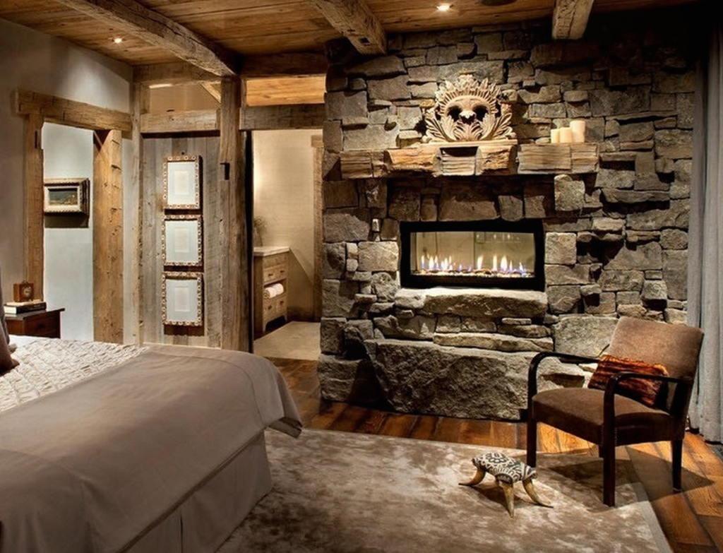 Тепло и уют — камин в интерьере квартиры и дома 47