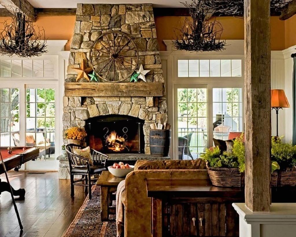 Тепло и уют — камин в интерьере квартиры и дома 51