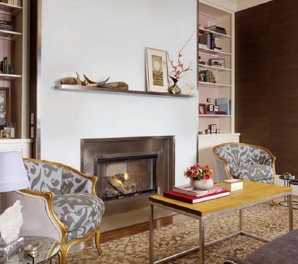 Тепло и уют — камин в интерьере квартиры и дома 52