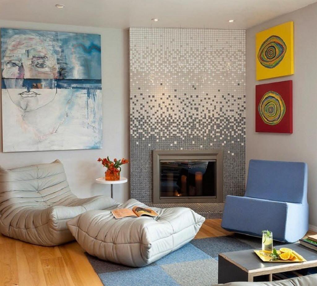 Тепло и уют — камин в интерьере квартиры и дома 53
