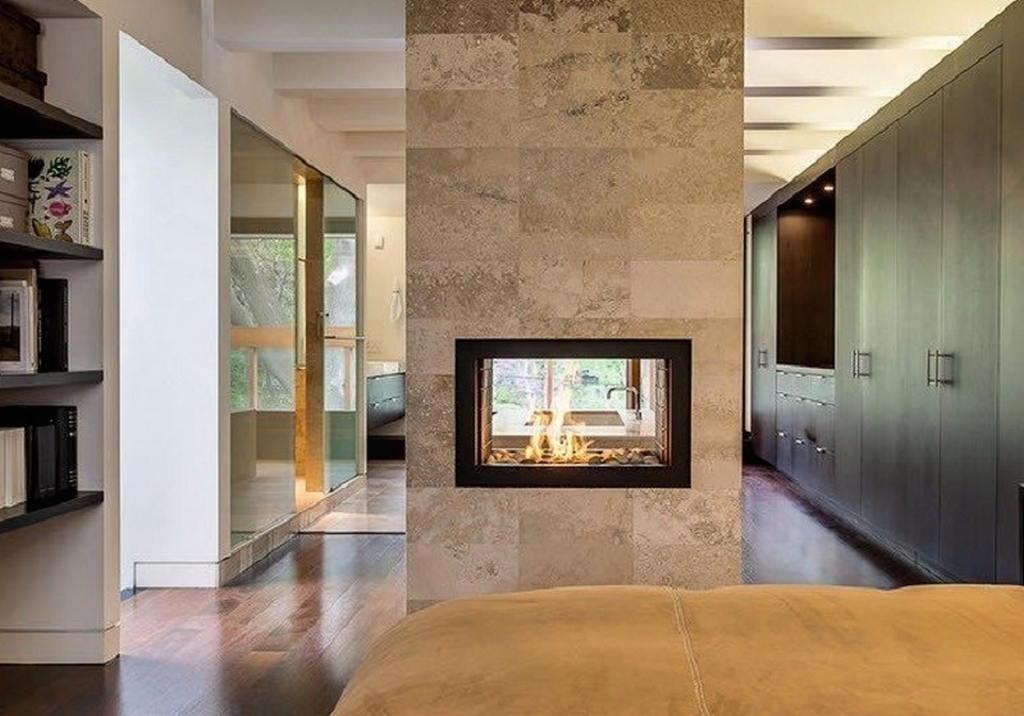 Тепло и уют — камин в интерьере квартиры и дома 58
