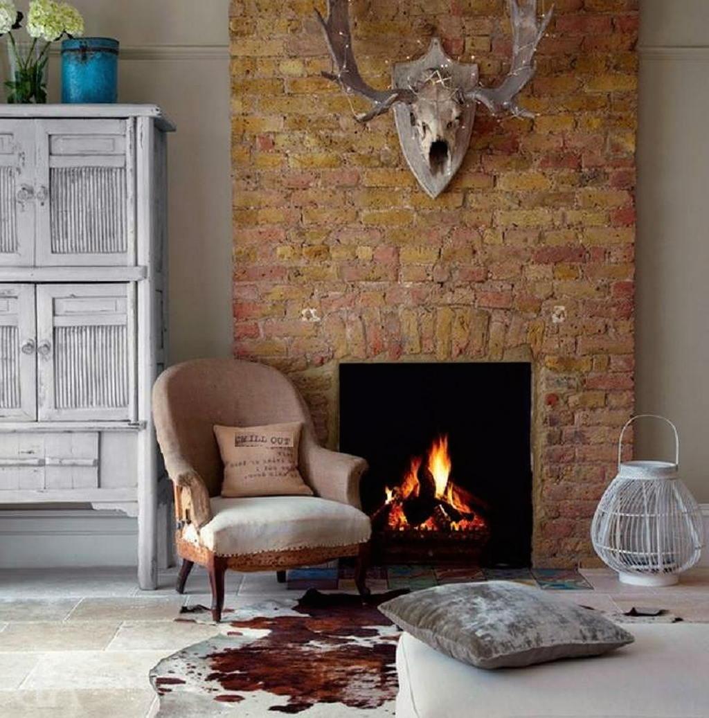 Тепло и уют — камин в интерьере квартиры и дома 59