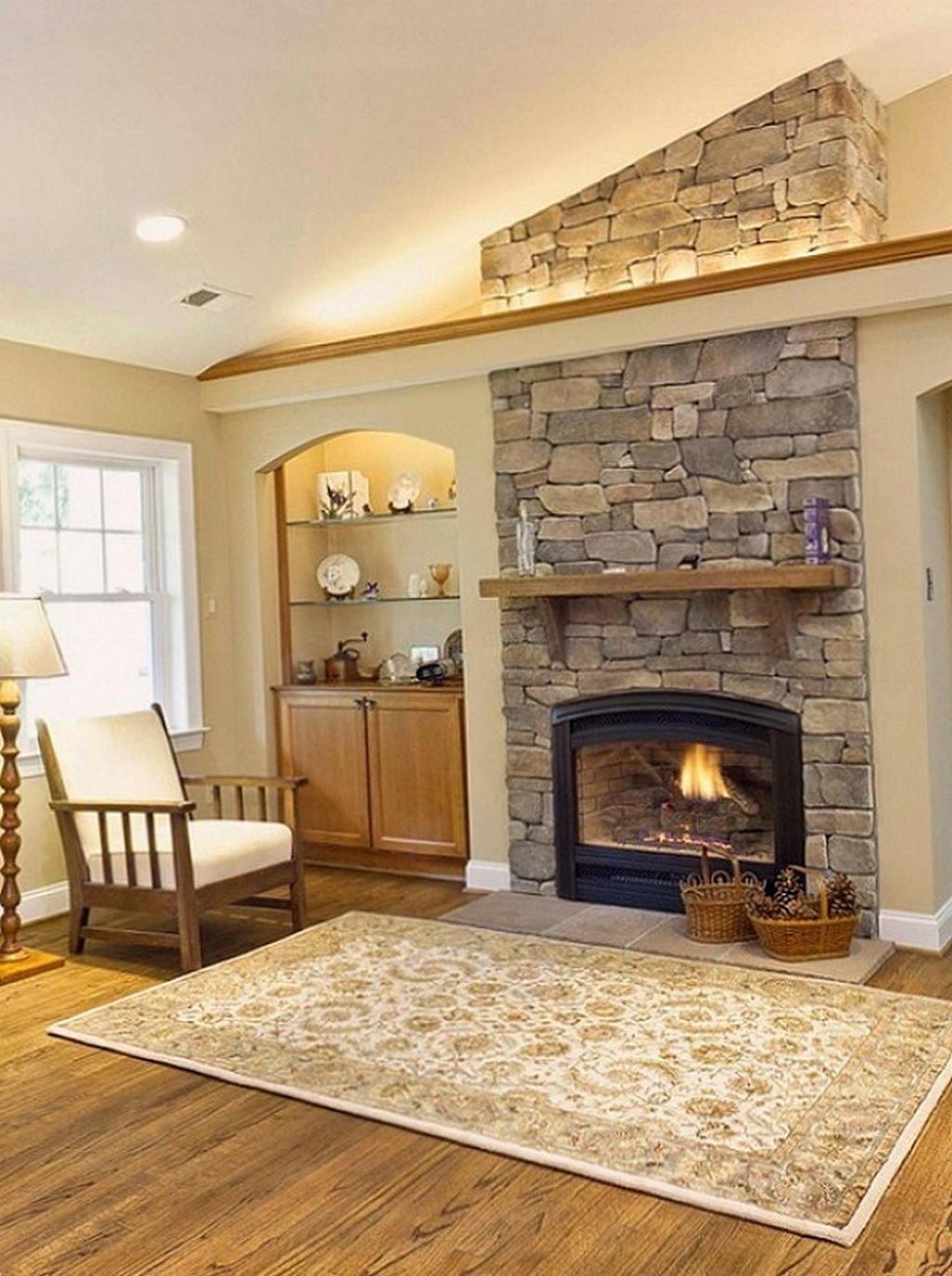Тепло и уют — камин в интерьере квартиры и дома 62