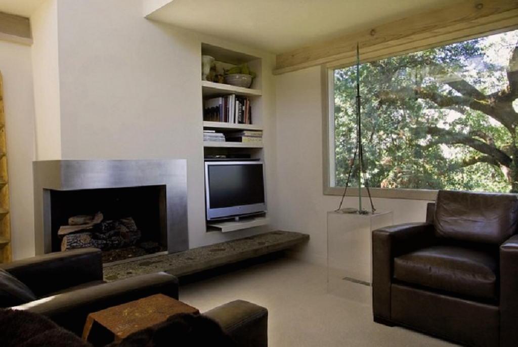 Тепло и уют — камин в интерьере квартиры и дома 64