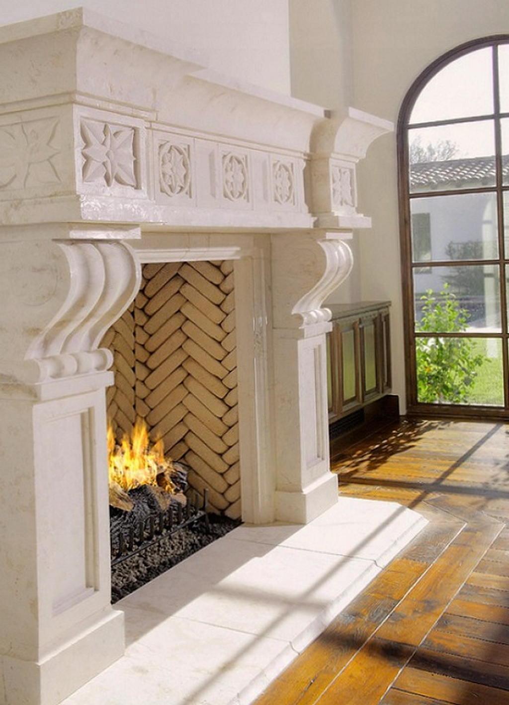 Тепло и уют — камин в интерьере квартиры и дома 65