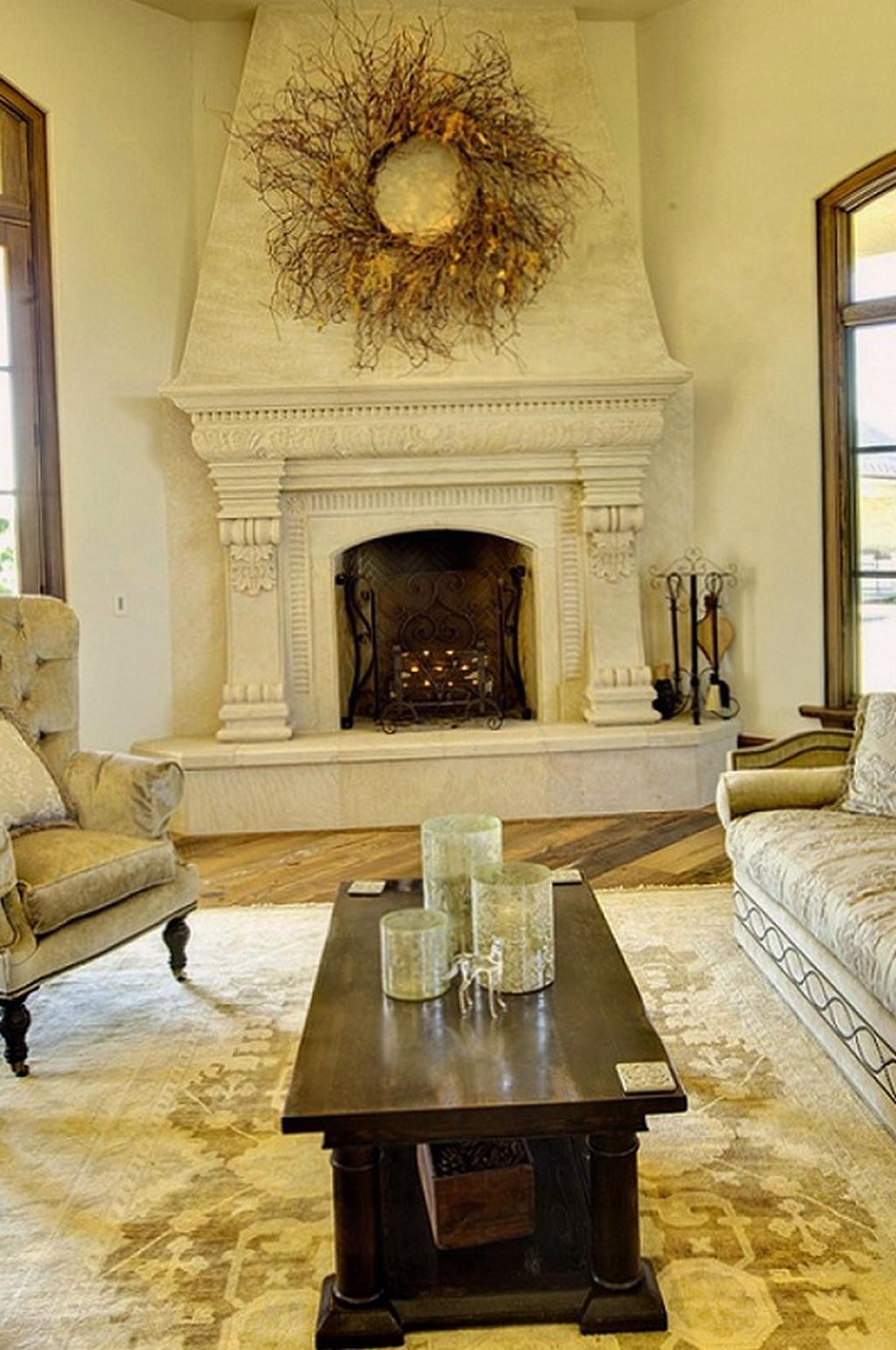 Тепло и уют — камин в интерьере квартиры и дома 66
