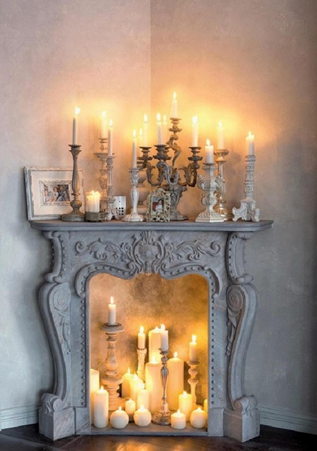Тепло и уют — камин в интерьере квартиры и дома 77
