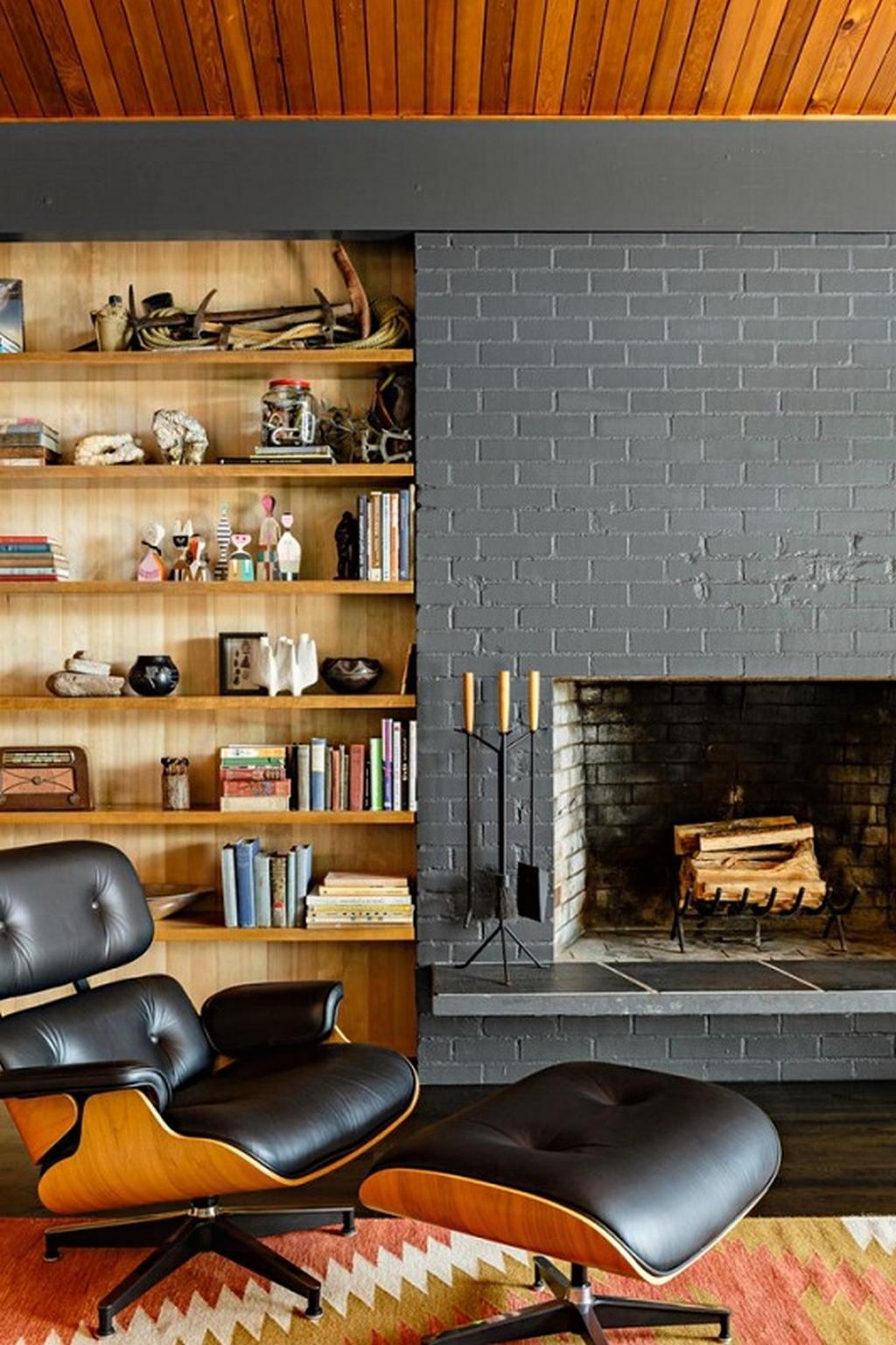 Тепло и уют — камин в интерьере квартиры и дома 8
