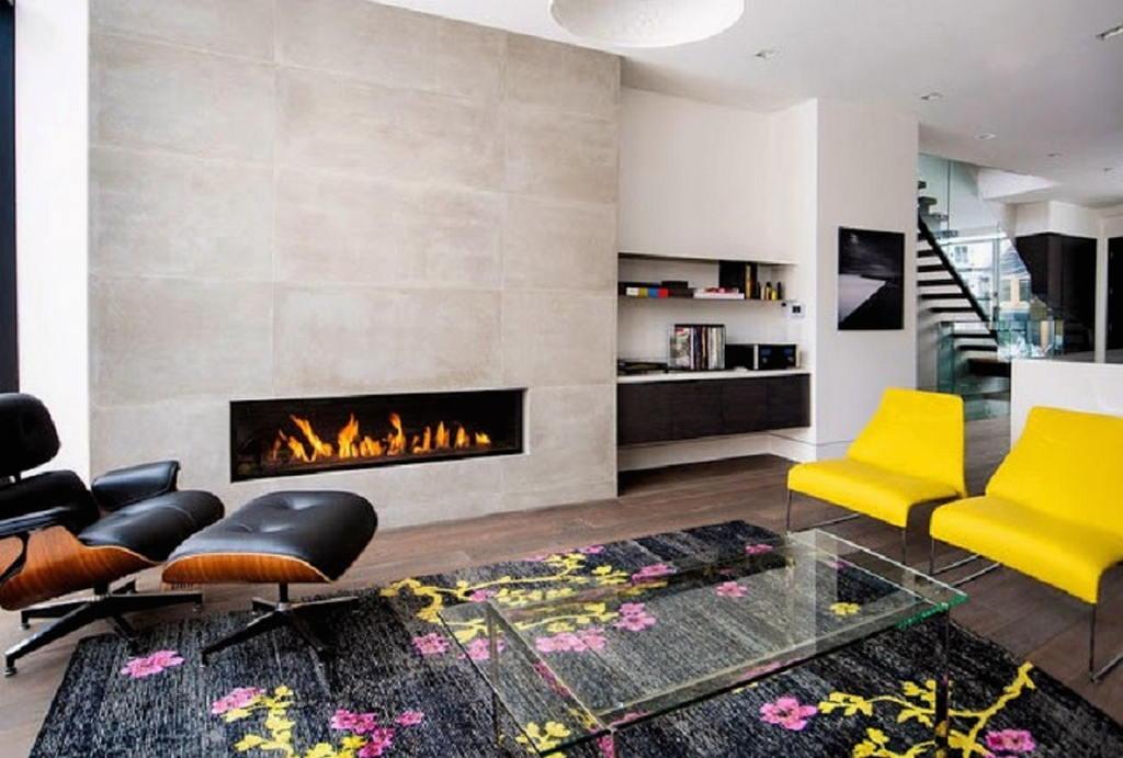 Тепло и уют — камин в интерьере квартиры и дома 83
