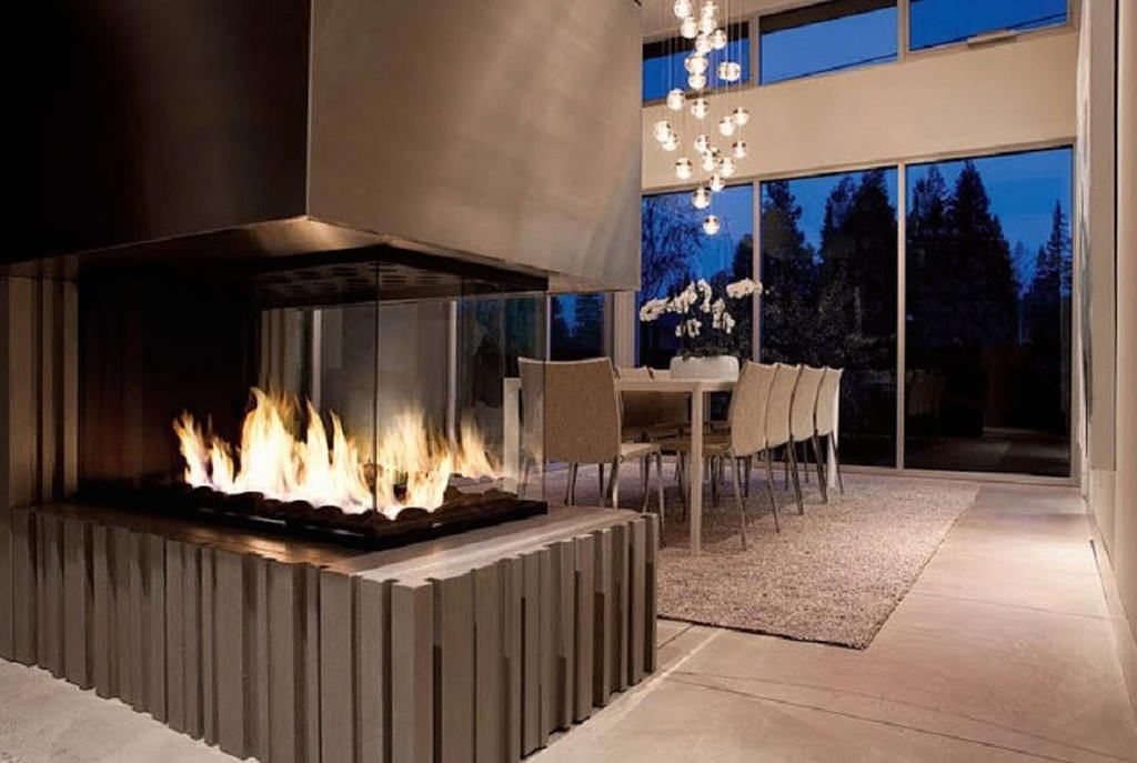 Тепло и уют — камин в интерьере квартиры и дома 84
