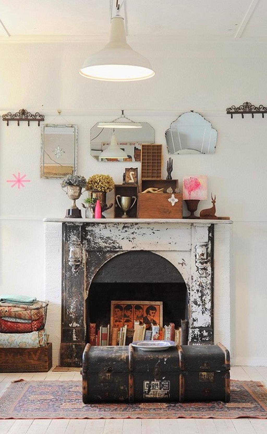 Тепло и уют — камин в интерьере квартиры и дома 85