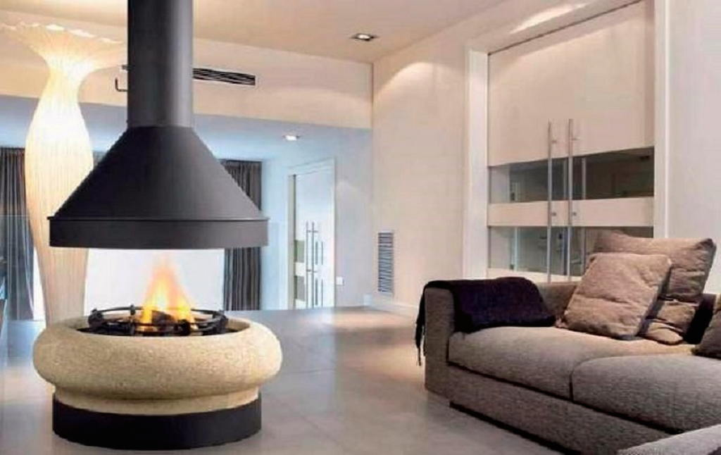 Тепло и уют — камин в интерьере квартиры и дома 88
