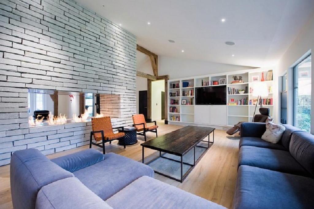 Тепло и уют — камин в интерьере квартиры и дома 9